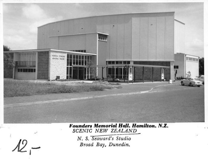 Founders theatre 1960s